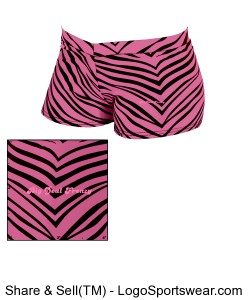Adult Animal Print Hot Short Design Zoom