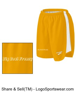 Mens Curved Side Panel Short Design Zoom